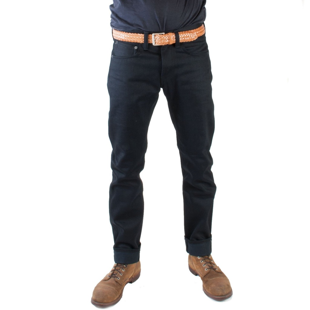 ED-55 Black Denim Red Selvage